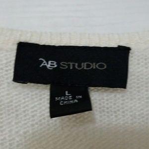 AB Studio Sweaters - Ab Studio color block sweater